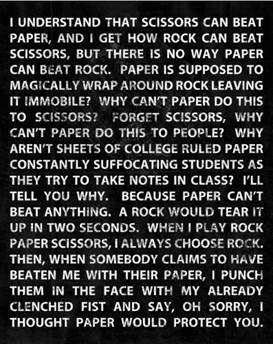 HilariousPlays Rocks, Rocks Paper Scissors, Lizards Spock, Laugh, Quotes, Scissors Lizards, Funny, I Am Your Rocks, Hilarious