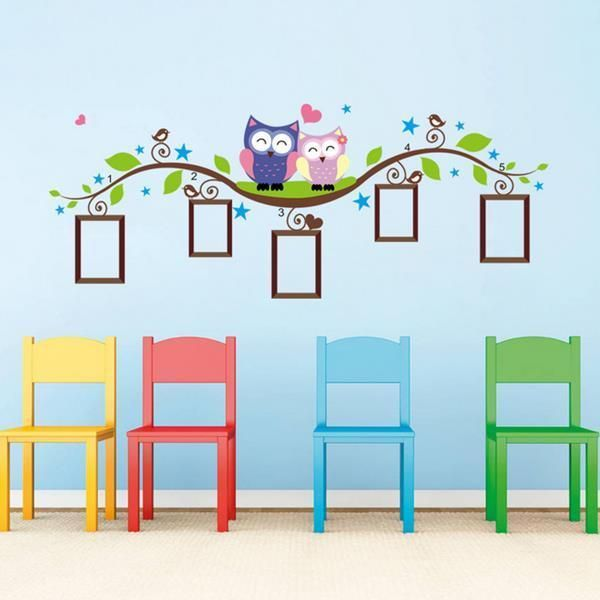 Photo Frame Picture Custom Stickers Maker Design Home Ideas Wall decor Art New #Walls