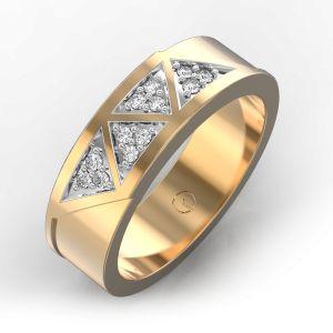 Charming Chevron Ring