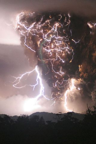 As I was out camping the other day an impressive electrical storm altered my stay.