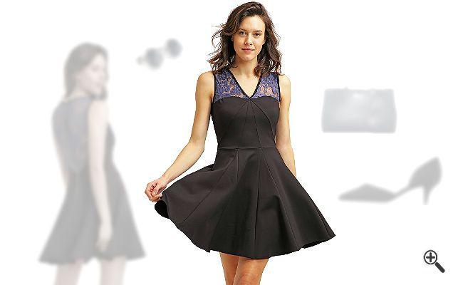 Schwarzes Cocktailkleidkombinieren + 3Schwarze Outfits http://www.kleider-deal.de/schwarzes-cocktailkleid-kurz/ #Schwarz #Cocktailkleider #Outfit #Kleider #Dress #Black Marta liebt schwarze Outfits. Besonders schön findet sie es jedoch, ein schwarzes Cocktailkleid in Kurz extravagant zu kombinieren. Gemeinsam haben wir ein kurzes schwarzes Cocktailkleid mit tollen Accessoi...