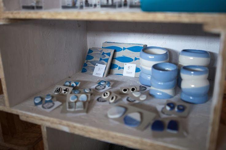tender #blue hues in Shop of Form at Remade Market 27 October 2013. Lodz Design Festival 2013