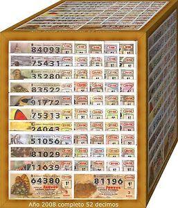 a ano 2008 completo loteria nacional del jueves
