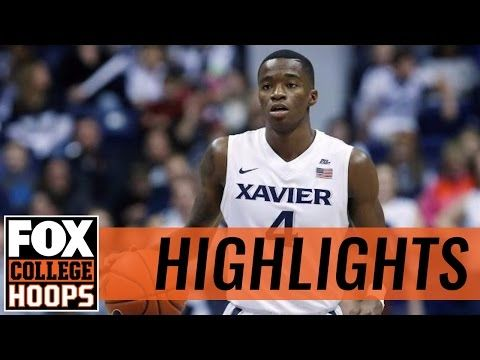 (17) Xavier takes down Eastern Washington | 2016 COLLEGE BASKETBALL HIGHLIGHTS