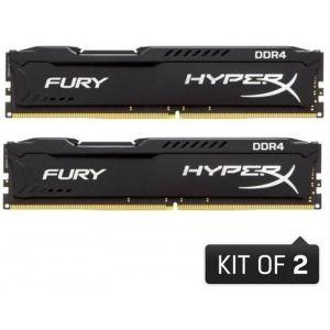 HyperX Fury Black 16GB DDR4 2133MHz CL14 Dual Channel Kit