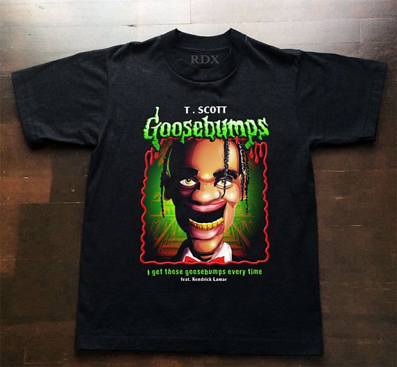 Travis Scott Goosebumps Inspired T shirt