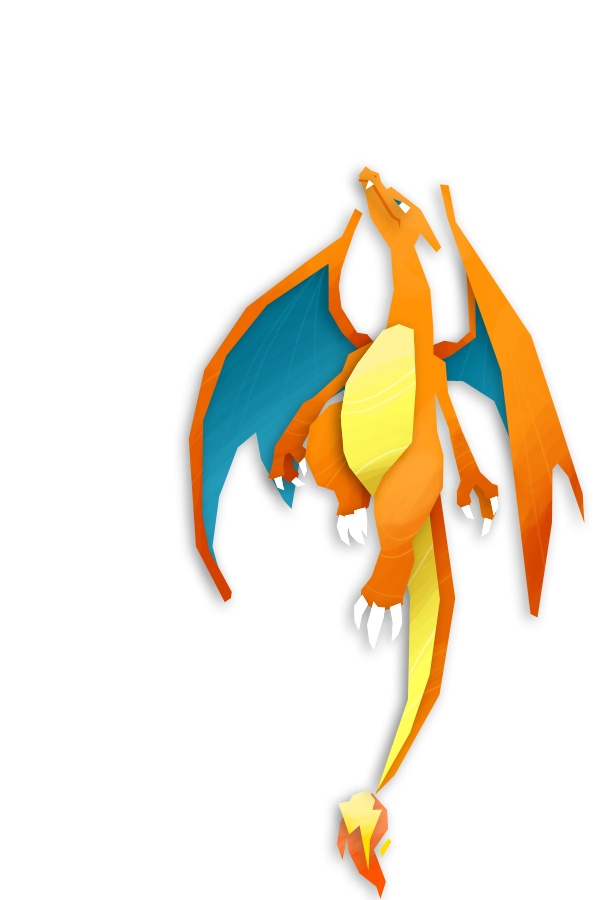 Despite being part Flying-type, Charizard could not learn the move Fly in Pokemon Red and Blue. This was changed when Pokemon Yellow came out.