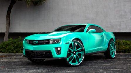 Did someone really put 28s on a 2012 Chevrolet Camaro ZL1? No, it's just a #clone http://www.powerpacknation