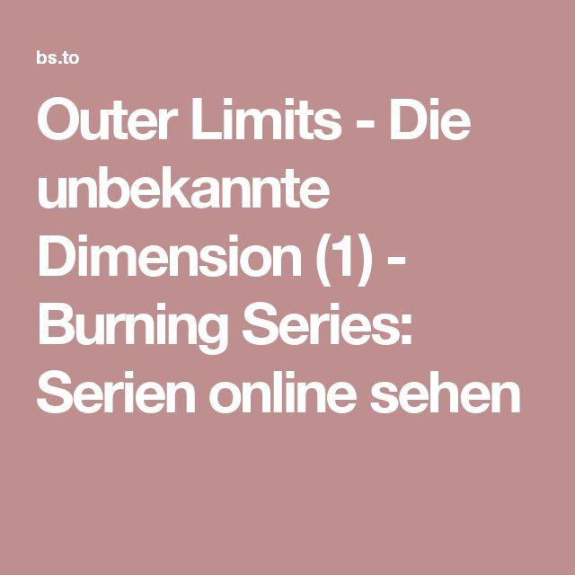 Outer Limits - Die unbekannte Dimension (1) - Burning Series: Serien online sehen
