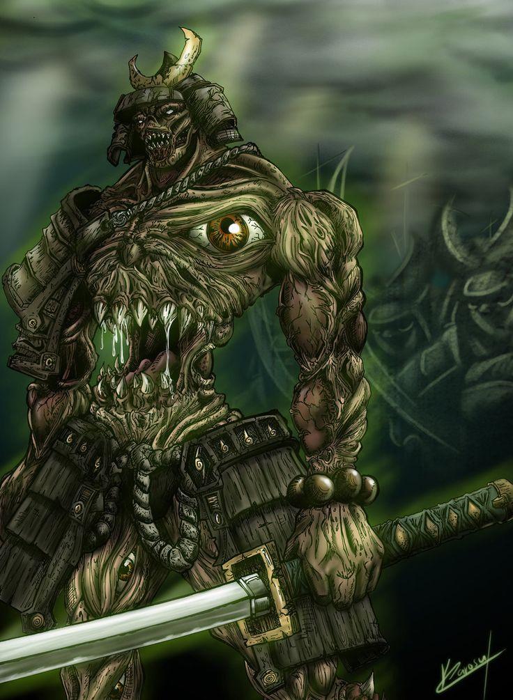 demon samurai soul by karosumakerdeviantartcom on