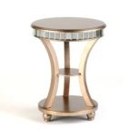 Did I pin this already?    Mirrored Accent Table    $129.99