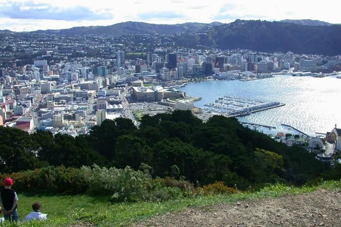 Mount Victoria Wellington, New Zealand