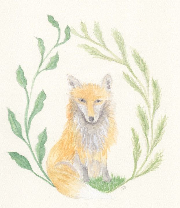 Sly Mr Fox by JessicaParkerArt on Etsy