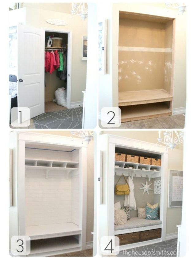 47 creative entryway and mudroom ideas - 9 Best Images About Project Transformation Hall Closet To