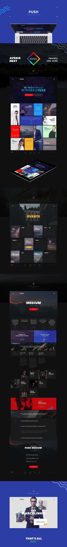 Push on Web Design Served: