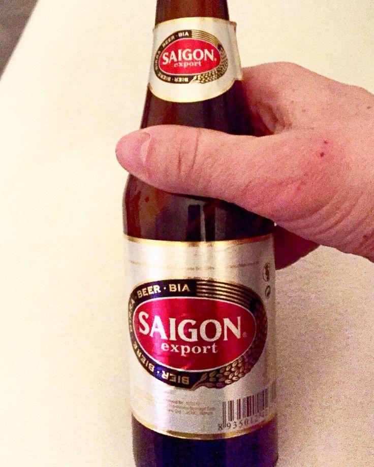 My international Beer Tour continues! Today Saigon Export  | Follow my Blog: www.JuergenSchreiter.com | #Saigon #Saigonbeer #saigonexport #export #bier #beer #biere #birra #bia #cerveza #cerveja #beerporn #brewery #influencer #brandambassador #schreiter