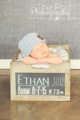 creative-newborn-boy photographer-santa-monica