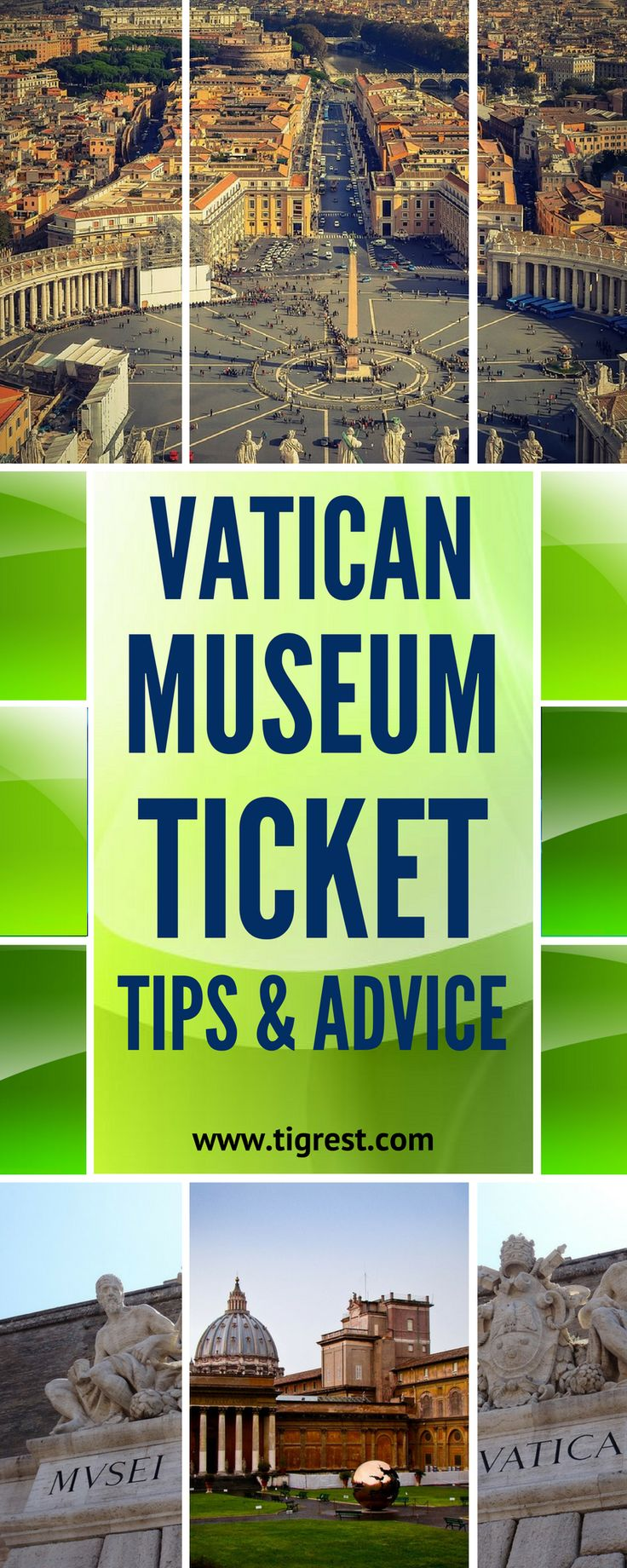 When it comes to Rome's best known attractions, nothing can beat the famous Vatican City with it's museums and cathedrals. In this article - Vatican Museum tips and ticket advice - how to get cheapest tickets, skip the line and access Saint Peter's Cathedral without queue #cheapestplacestotravel