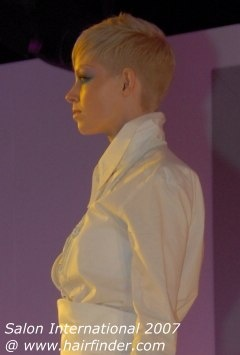 Short hair cropped tightly around the ears and up along the nape: Short Hair, Shorts Hair, Hair Crop