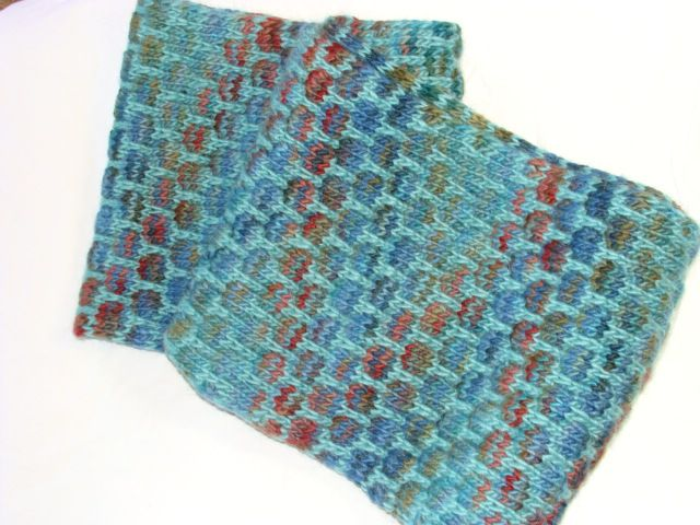 Mosaic Knitting : The vancouver yarn kit mosaic knitting get look of