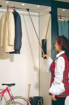 Wardrobe lift, Professional, load-bearing capacity 15 kg