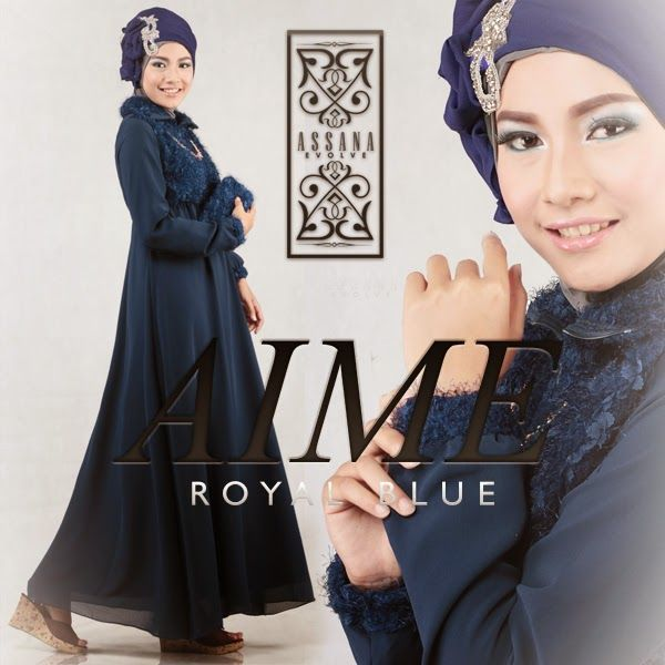 Aime by Assana Evolve - Royal Blue