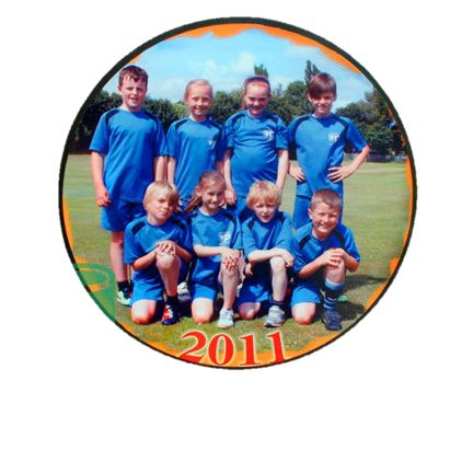 Mount all your achievement or team photos on a photo panel