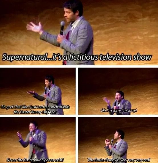 i love this more than words can describe. ohh misha.