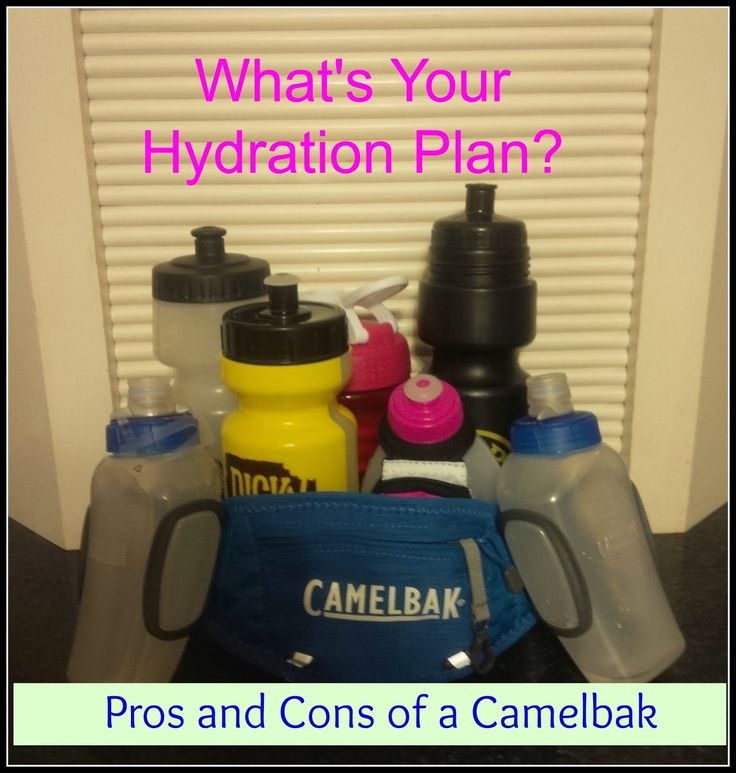 What's Your Hydrating Plan?  And Pros and Cons of a Camelbak: A MUST READ FOR DISNEY RACES!
