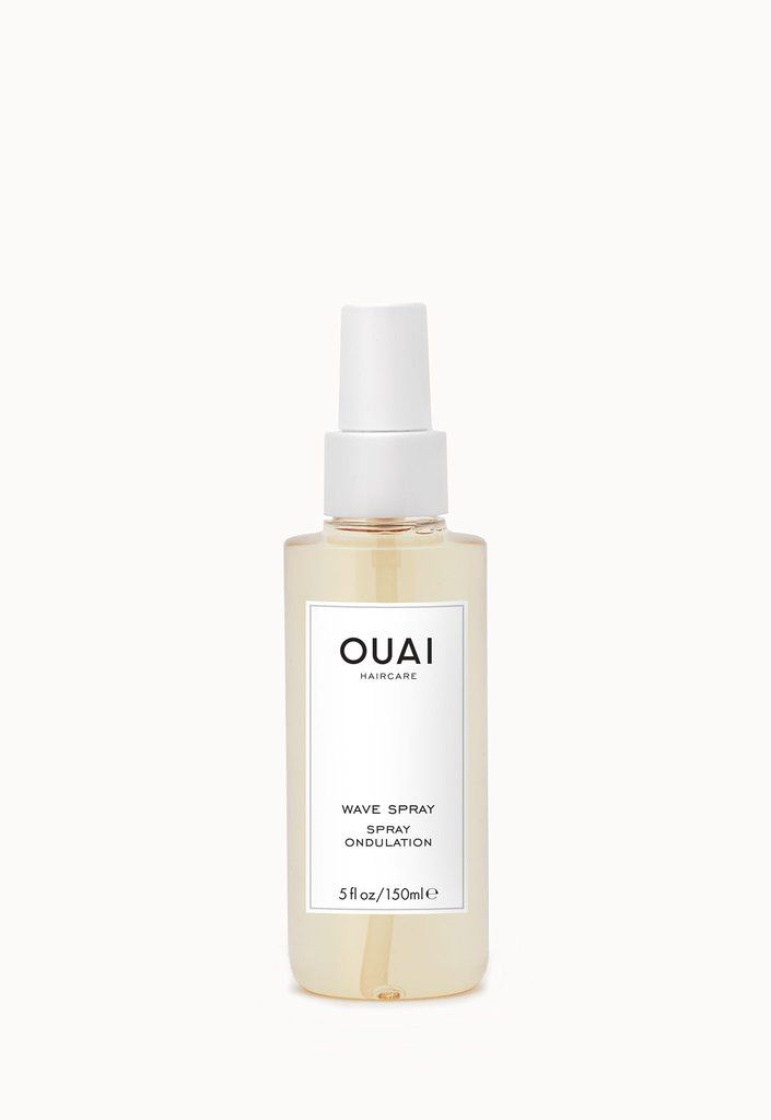 """WAVE SPRAY  $ 26.00  A weightless texture mist for effortlessly chic, undone hair. Infused with rice protein to add hold and memory for that """"just got out of the ocean and my hair dried perfectly"""" look.  Free of parabens. No animal testing."""