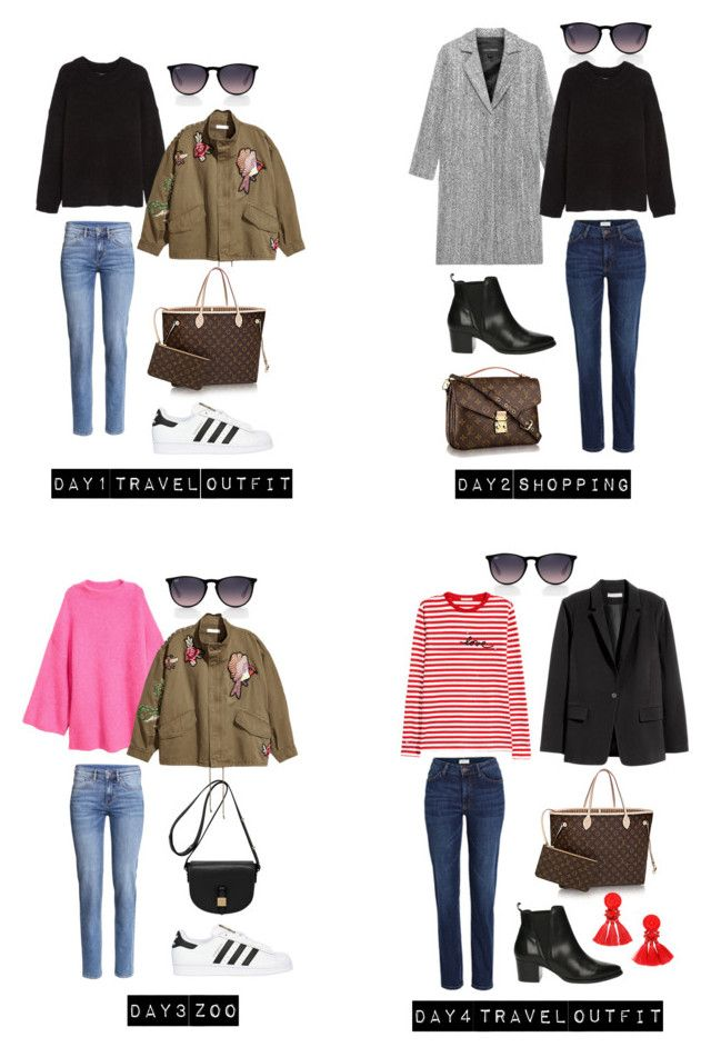"""""""Untitled #235"""" by stinasolheim on Polyvore featuring Ray-Ban, adidas Originals, Jakke, Privé, Mulberry and H&M"""