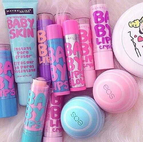 Baby Lips, EOS ultra soft lip balm Mac Betty(from Archie comics) baby skin lotion.
