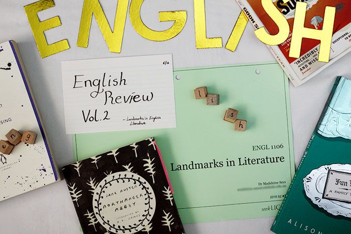 The English Review Vol. 2   Landmarks in English Literature