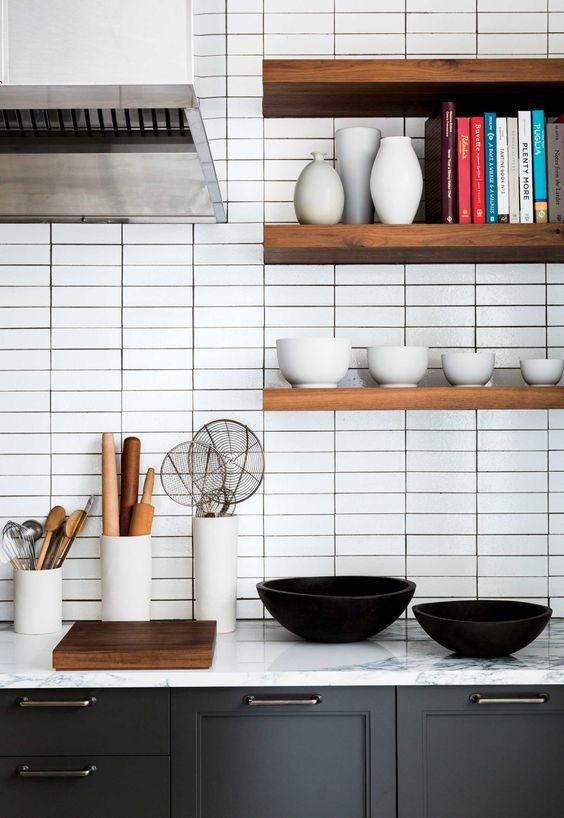 Modern subway tile layout | Example 2 for tile layout