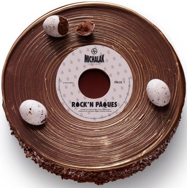Chocolate. Rock n' roll Oeuf de Michalak