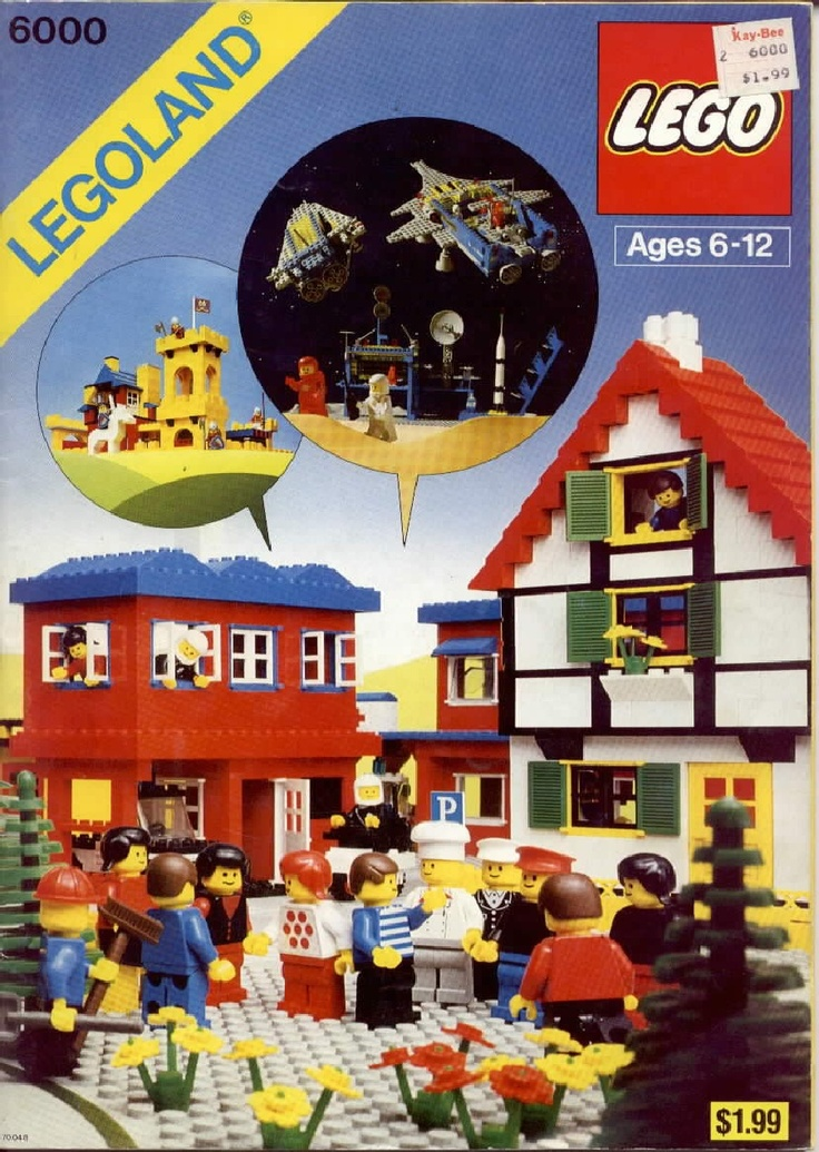 Legos! Back when they required actual imagination and work.