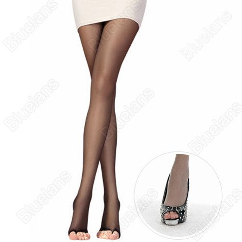 Hot Open Toe Pantyhose Sexy Charming Women's Tights Stockings 4Color Fashion Female Transparent Long for Spring Fall 5WVB BDBC
