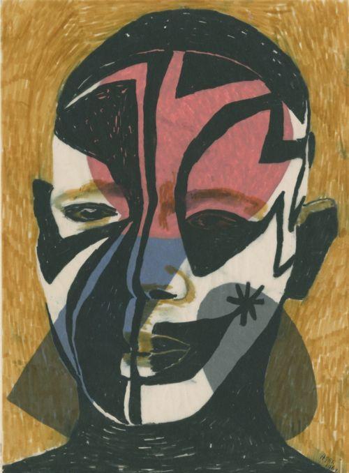 eileen agar/1899-1991/'painted warrior'