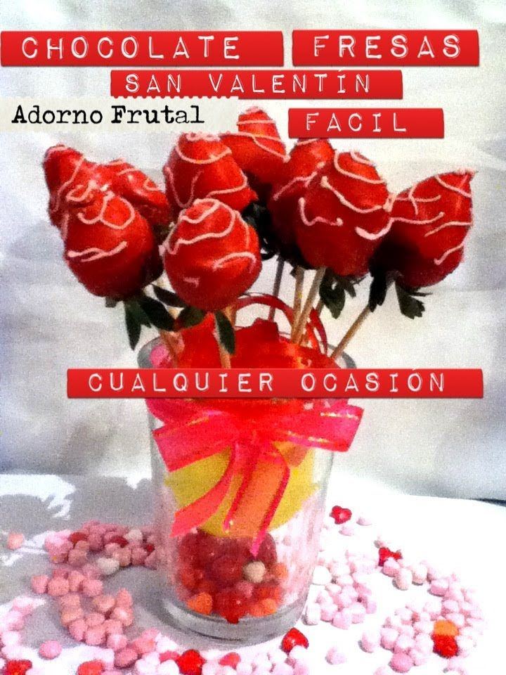 19 best images about decoracion frutas on pinterest - Decoracion para san valentin ...