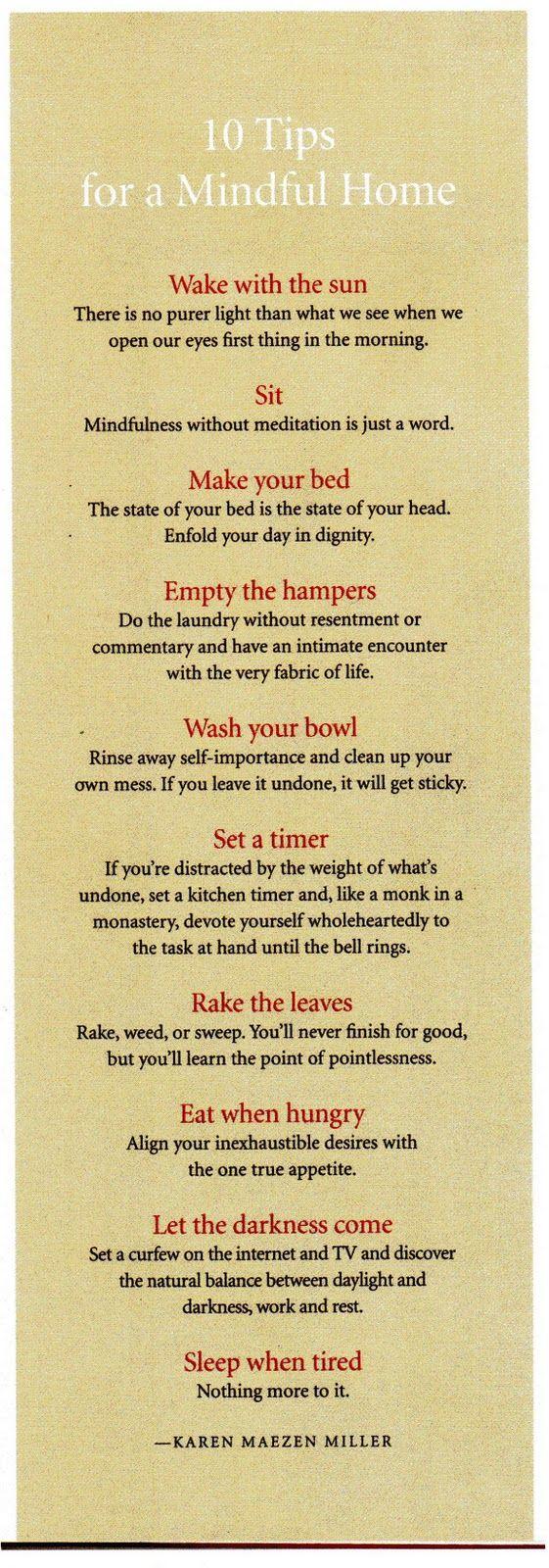 La Maison Boheme: 10 Tips for a Mindful Home