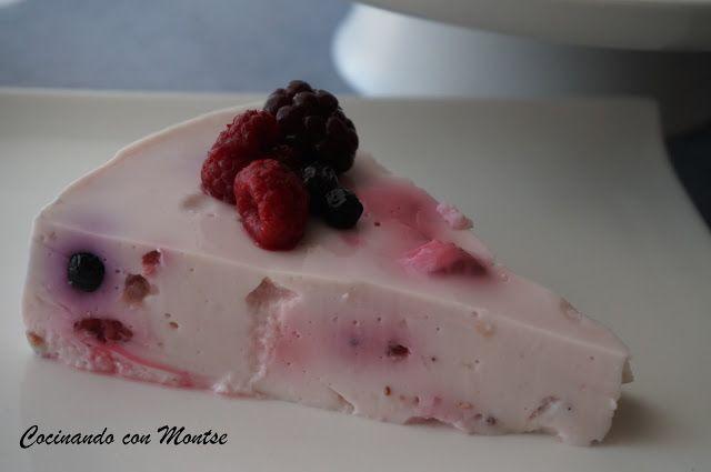 Cocinando con Montse: Tarta de yogurt ligera
