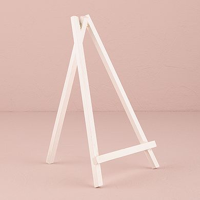 White Wooden Easels - Large