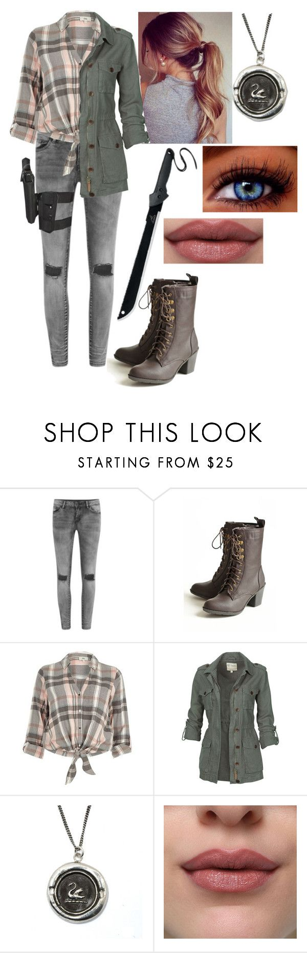 """the walking dead"" by sophie-quake-jones ❤ liked on Polyvore featuring Vila Milano, River Island, Fat Face and Momentum"