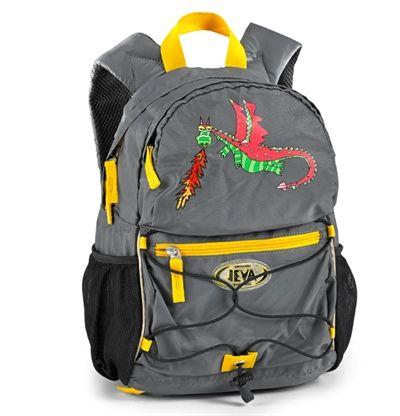 Mega seje Jeva rygsæk til børn, Dragon Jeva  til Rygsække i lækker kvalitet