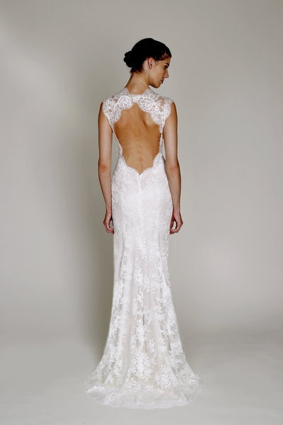 Lovely in Lace || Bliss by Monique Lhuillier, $2,860.