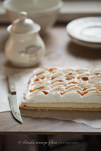 Hungarian Rákóczi cottage cheese pie