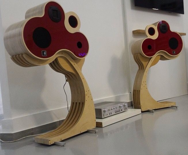 Loudspeakers don't always have to look like a box!                              …