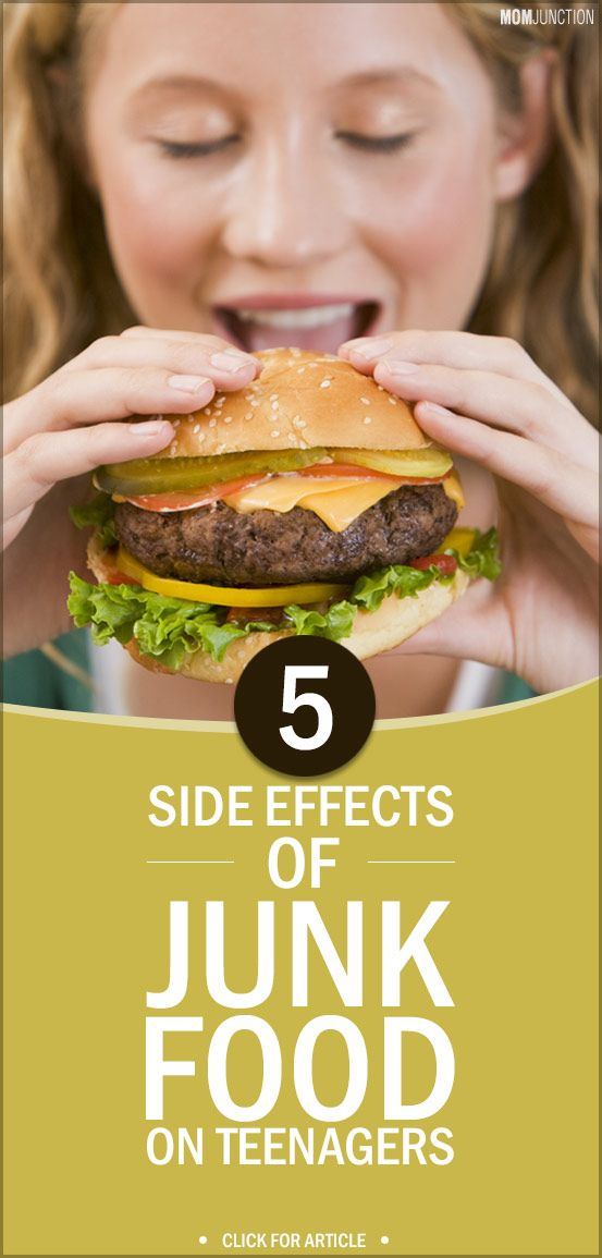 Do you know that your teen's favorite fast food could cause irreparable damage to his body? Read here the adverse effects of junk food on teenagers health.