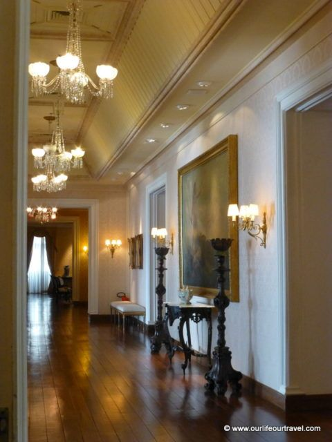 The Sao Luiz palace from inside. Visit in an other UNESCO World Heritage city.