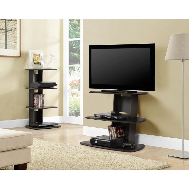 Ameriwood Home Galaxy 32-inch Espresso TV Stand (TV Stand, Espresso), Brown